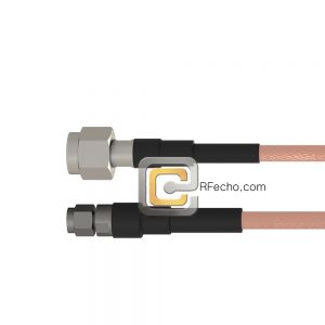 TNC Male to SMA Male RG-58 Coax and RoHS F070-411S0-321S0-50-N
