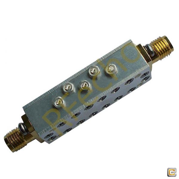 Bandpass Filter From 15.97GHz To 16.03GHz With SMA-Female Connectors