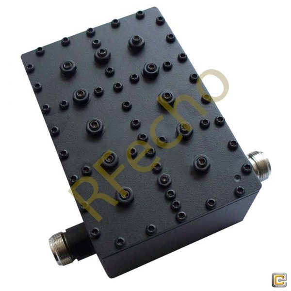 Bandpass Filter From 0.7022GHz To 0.7098GHz With N-Female Connectors