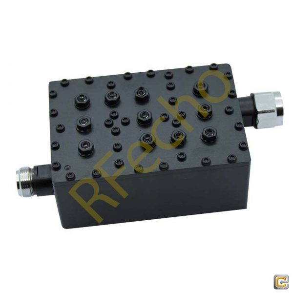 Bandpass Filter From 0.89GHz To 0.915GHz With N Type Connectors