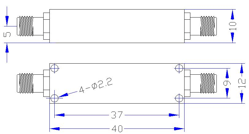 DC-1.4GHz, Rejection: ≥35dB @ 1.6~2.0GHz, Low Pass Cavity Filter OLP-14000 01